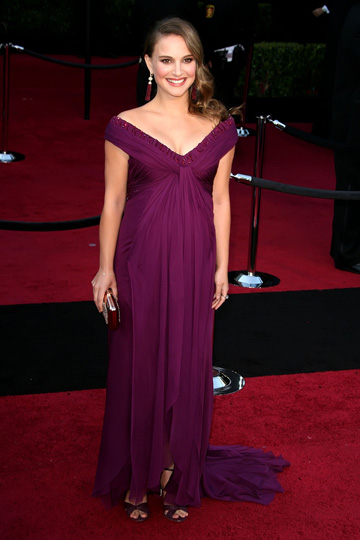 9 Stunning Red Carpet Maternity Gowns