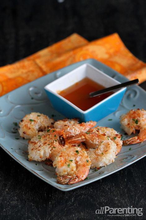 allParenting Baked coconut shrimp