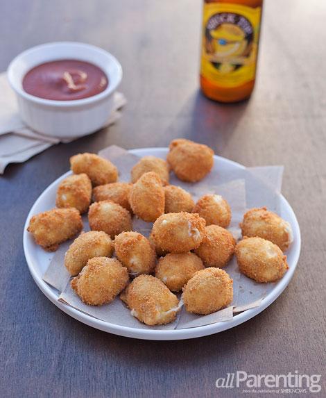 allParenting Homemade fried mozzarella balls
