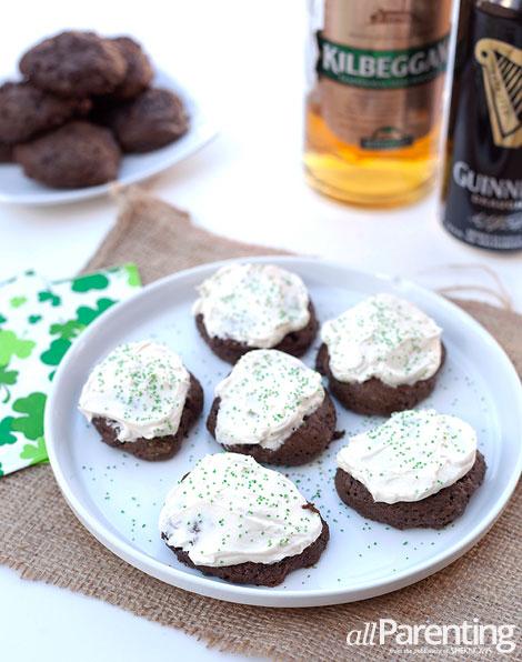allParenting Irish car bomb cookies