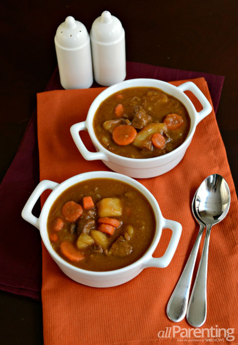 allParenting Irish stew with a touch of stout