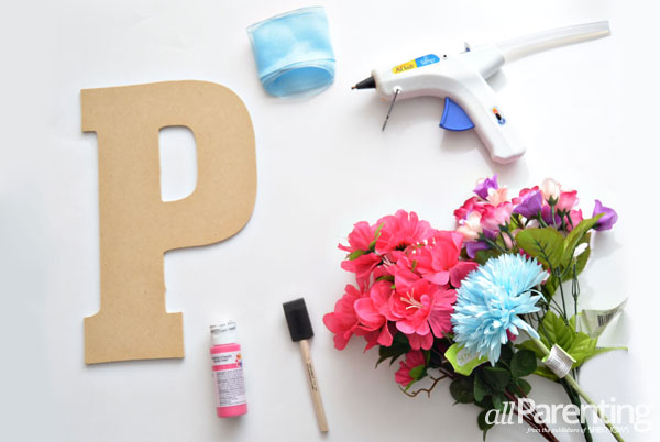 allParenting blooming monogram supplies