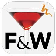 Cocktail apps: Food & Wine Cocktails