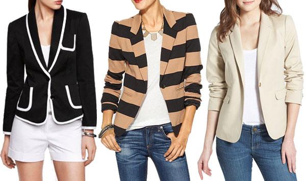 Spring figure flattering trends: Structured blazers