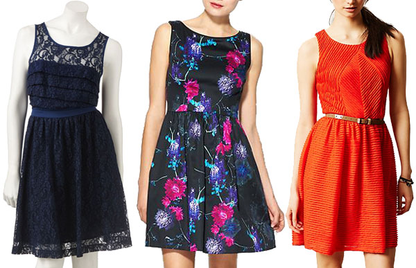 Spring figure flattering trends: Fit and flare dresses