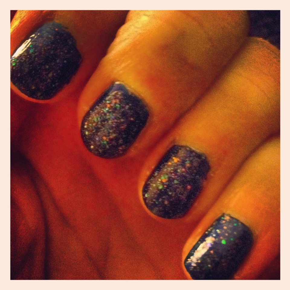 Nails: Sarah Rudell Beach