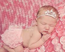 newborn photography prop: Baby tiara