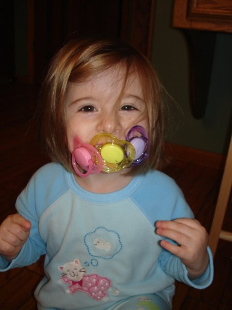 Ditch the paci: Galit