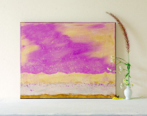 Radiant orchid: Pretty painting