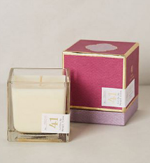 Radiant orchid: Lollia Poetic License Boxed Candle in 41 Bittersweet