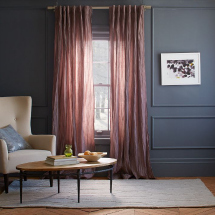 Radiant orchid: Stella Curtains in Sugar Plum