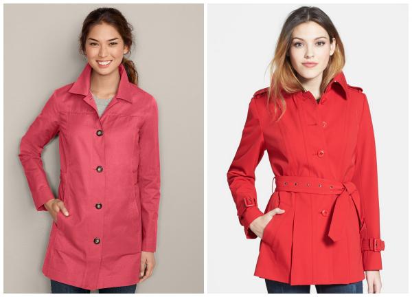 Rain gear- trench coats