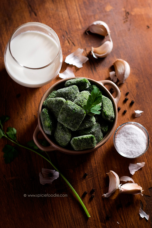 Pinterest spinach: Garlicky and Creamy Spinach (Using Frozen Spinach)