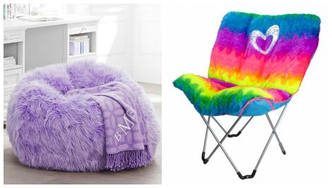 Tween bedroom- seating