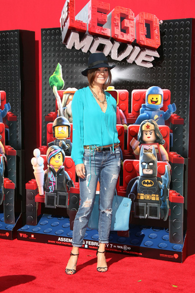 Brooke Burke at The Lego Movie