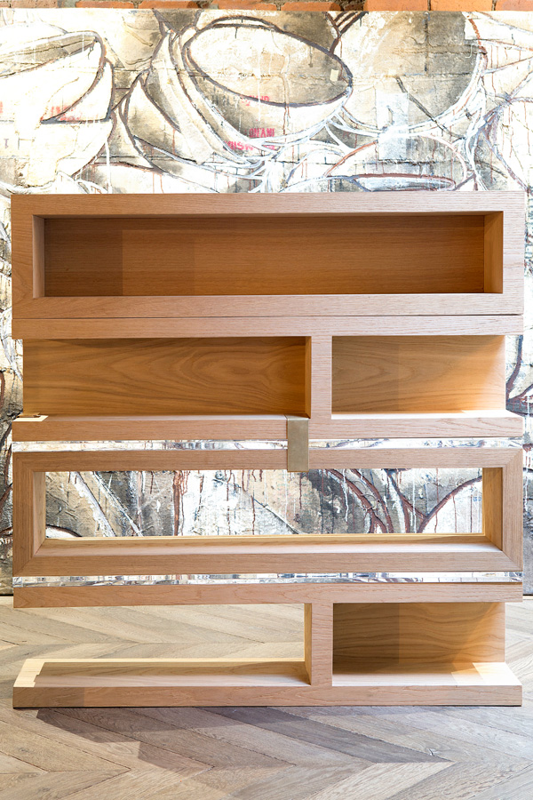 Bookcases that please from Cezign