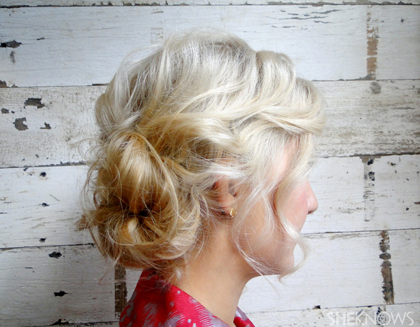 How to do a simple chignon updo | SheKnows.com