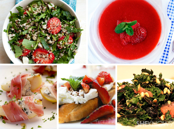 Fruit-filled Mother's Day brunch menu: Starters and sides