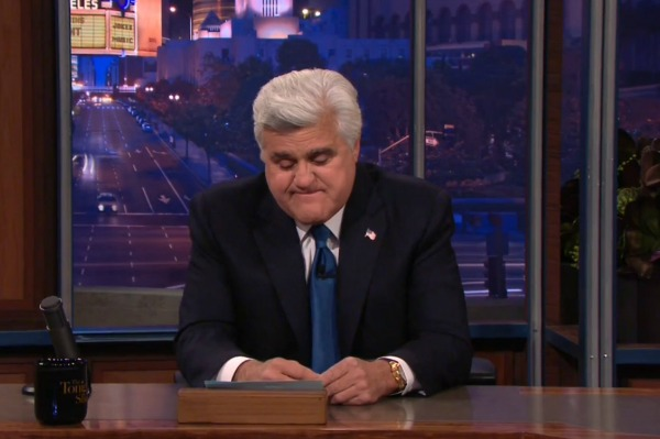Jay Leno says goodnight for good