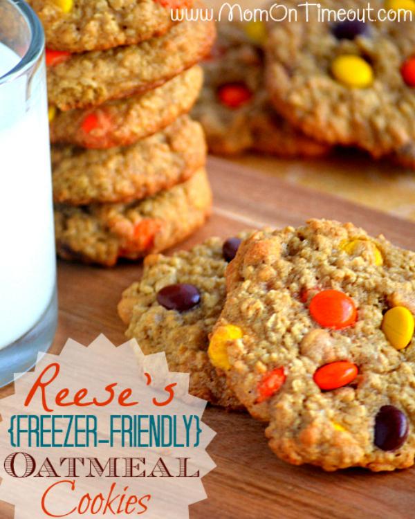 Freezer-Friendly Oatmeal Cookies