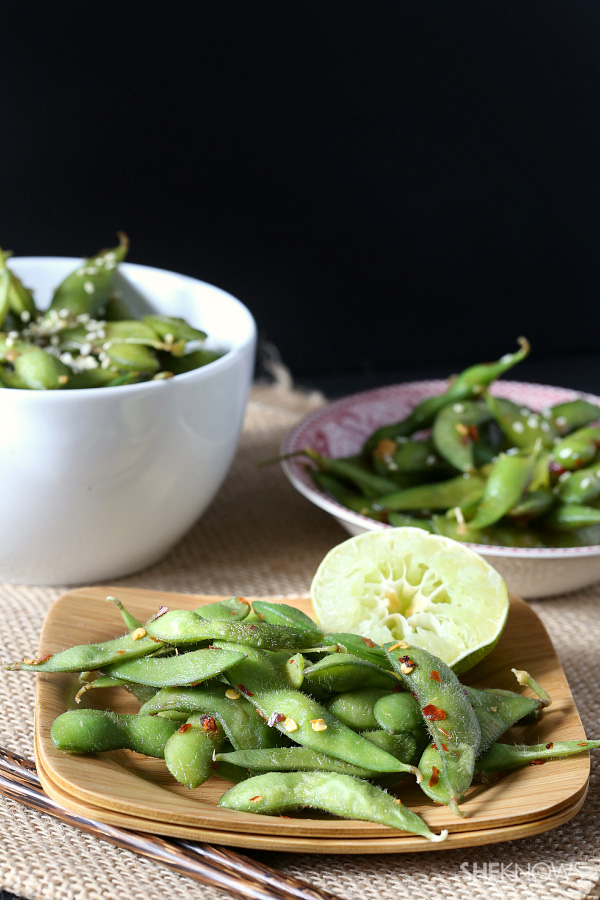 3 unique edamame recipes