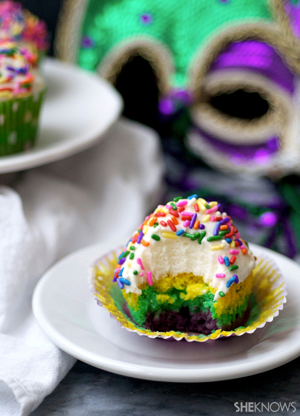 Whip up these tasty Fat Tuesday treats in the traditional colors of Mardi Gras