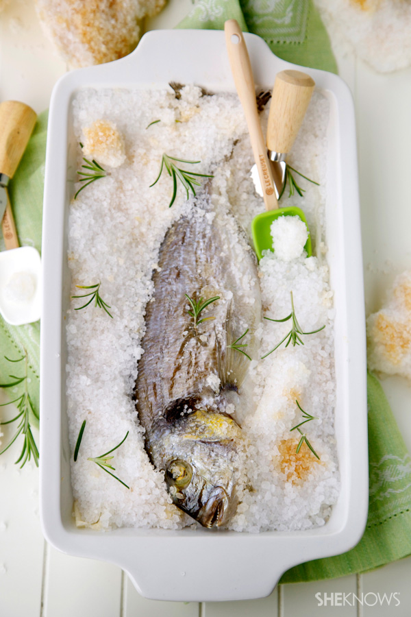 Salt Roasted Fish Recipe — Dishmaps