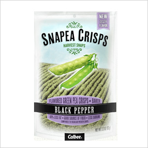 Snapea Crisps: Black Pepper