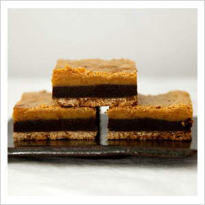 Layered bar cookies