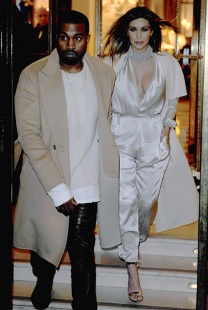 Kimye scaling Paris wedding way down