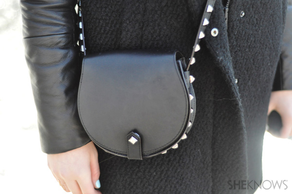 A little leather bag adds a lot of style to any look in a snap.