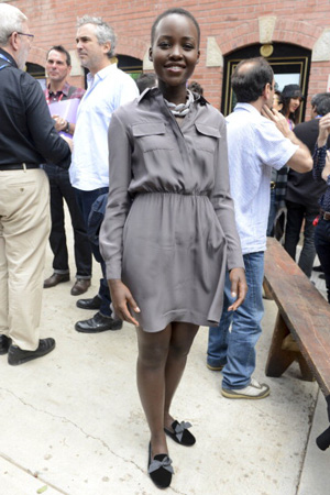 Lupita Nyong'o at the Telluride Film Festival