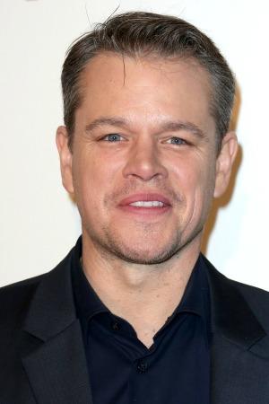 Matt Damon moons  the world!
