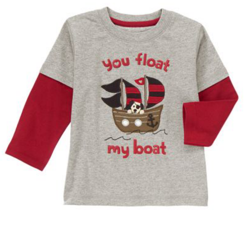 Valentine's t-shirt for baby boy