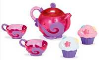 Munchkin Tea and Cupcake bath toys