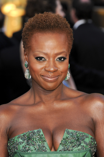 Viola Davis at the 2012 Oscars