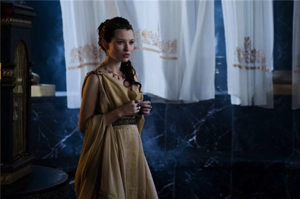 Emily Browning in Pompeii