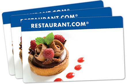 Win Restaurant.com money on SheKnows.com.