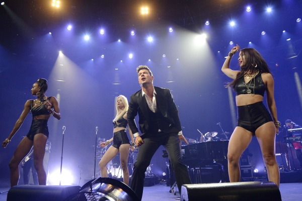 Is Robin Thicke sexist?