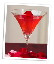 Rose petal martini recipe