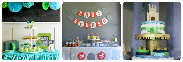 Boys baby shower ideas