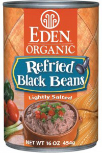 Eden Foods organic refriend black beans