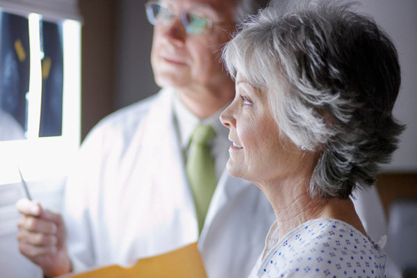 Lower death rate in breast cancer patients