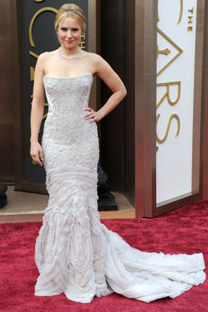 Kristin Bell at the 2014 Oscars