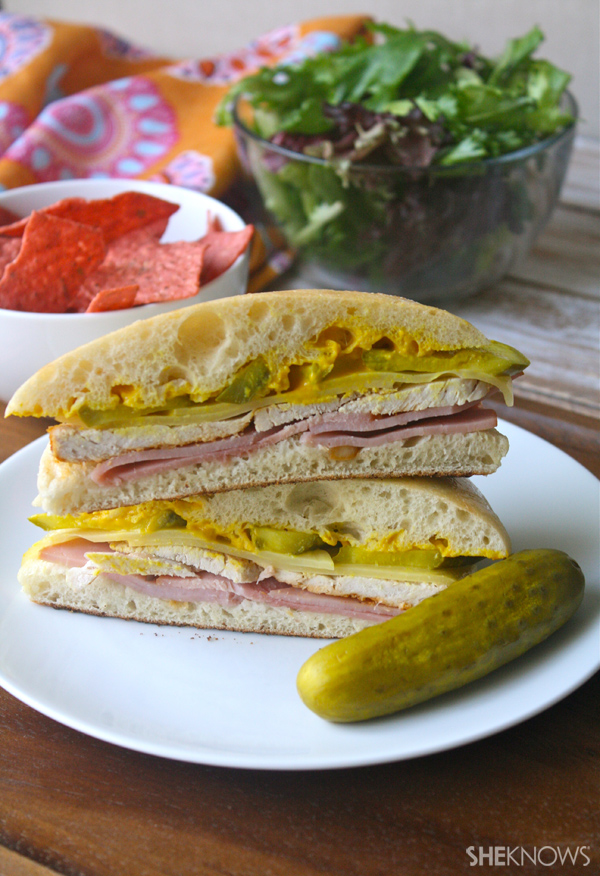 Hearty Cuban sandwiches