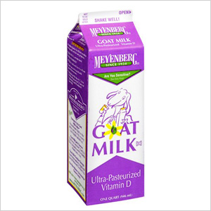 Go crazy for goat's milk products