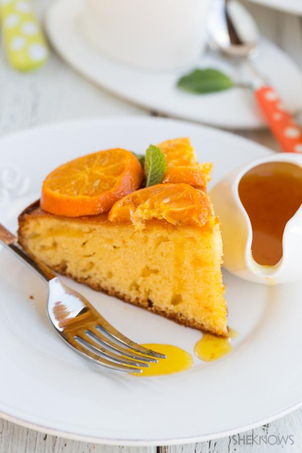 Clementine and mascarpone cake
