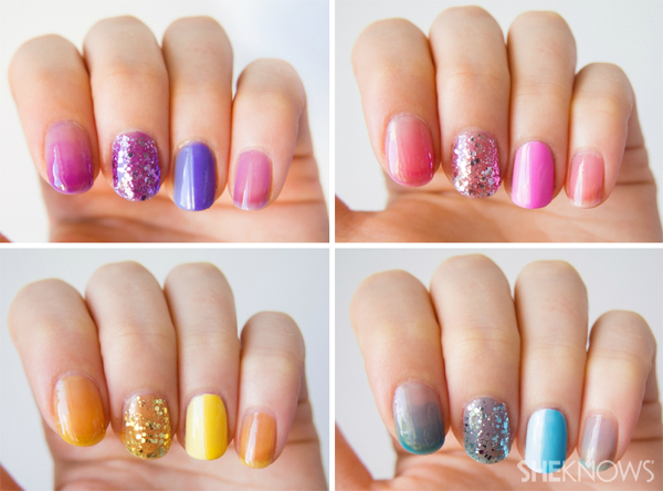 OPI sheer tints: Swatches and nail art ideas