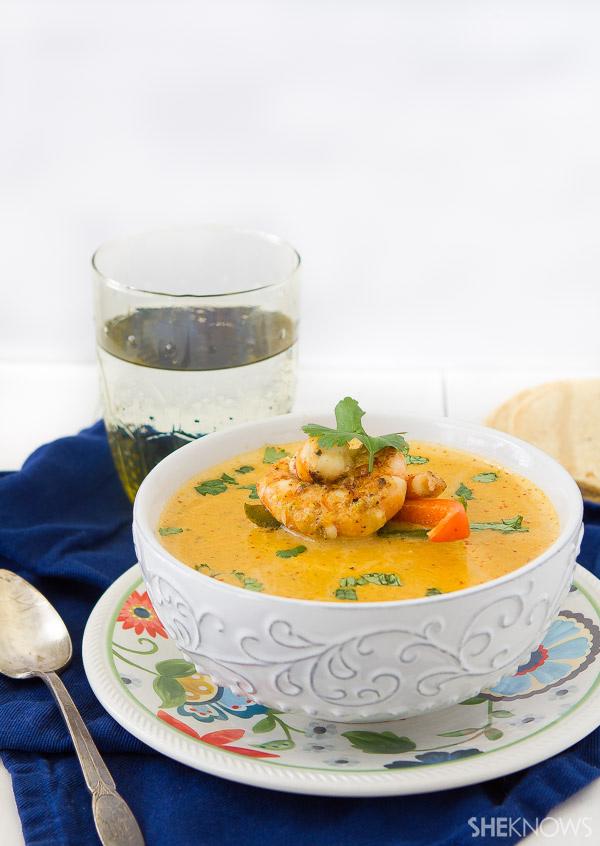 Shrimp fajita bisque recipe