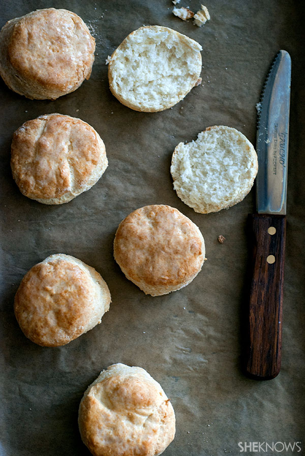 Southern style buttermilk biscuits recipe